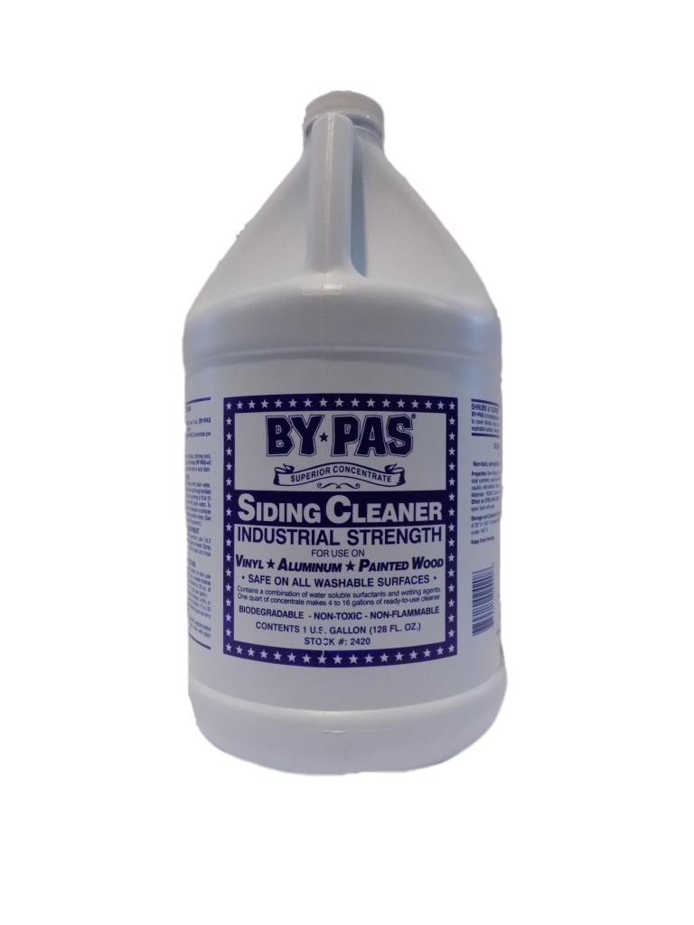 Siding Cleaner Concentrate By Pas